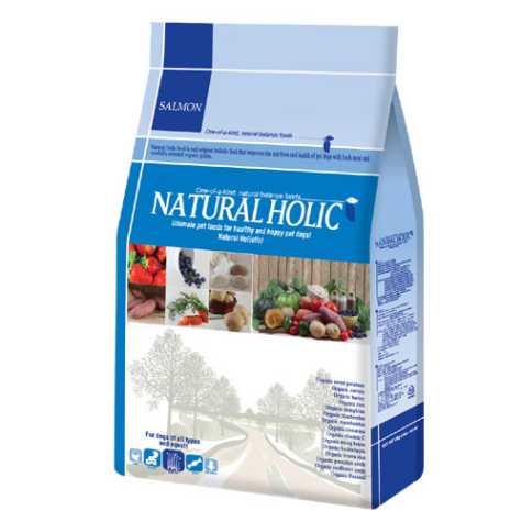 유기농 내추럴홀릭 육류 알러지 연어 2kg [작은입자/전연령]**온라인판매가준수상품**