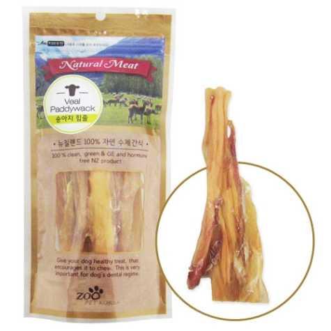 쥬펫 뉴질랜드 100%자연수제간식 송아지힘줄 80g**온라인판매가준수상품**
