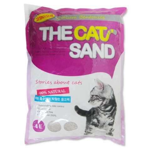 [특가할인6개묶음]더캣샌드 고양이모래 4L(3.04kg)